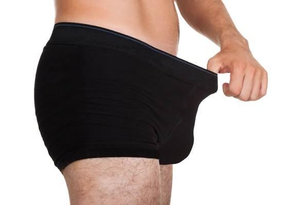 mặc quần lót rộng rãi