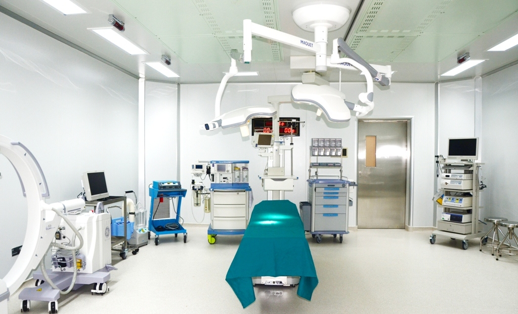 Trang thiết bị y tế hiện đại