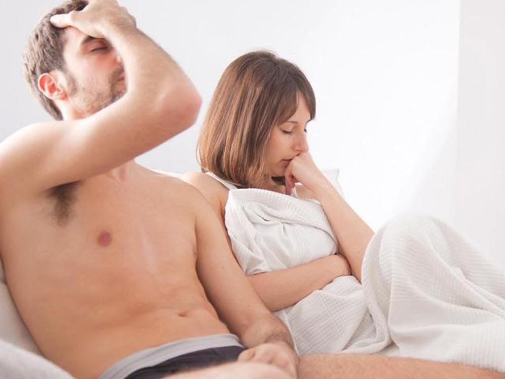 Ảnh hưởng tới sinh hoạt tình dục