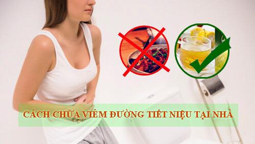 chữa viêm đường tiết niệu