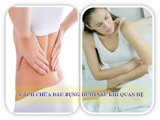 Cách chữa đau bụng dưới sau khi quan hệ